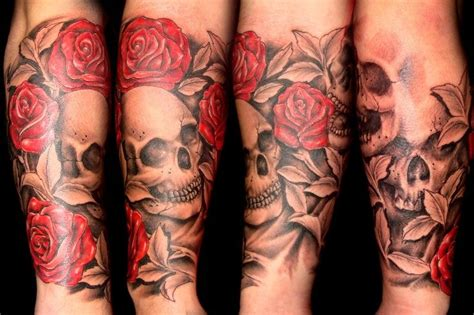 skull tattoo designs for sleeves 25 skull half sleeve tattoos