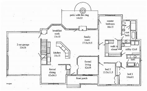 basement floor plans 2000 sq ft house plan beautiful 2000 sq ft house plans with walkout