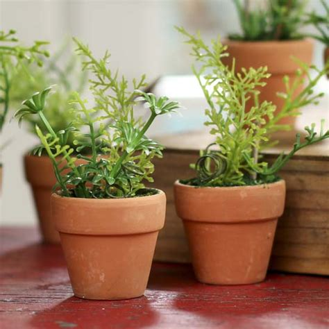 mini potted plants mini artificial potted herb garden plants artificial
