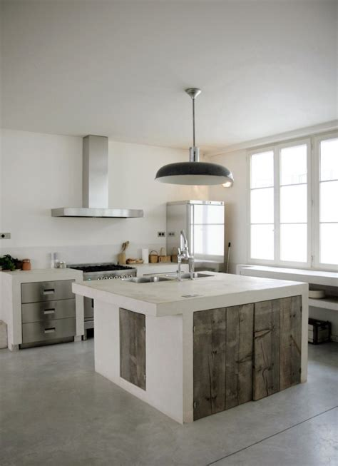 concrete kitchen design an easy guide to kitchen flooring kitchen industrial