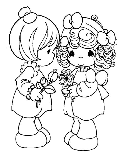precious moments coloring pages love precious moments for love coloring pages gt gt disney