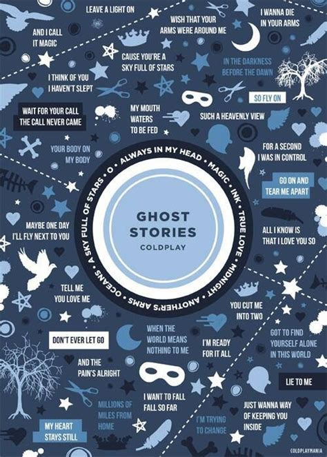 ghost stories coldplay s ghost stories visual ly