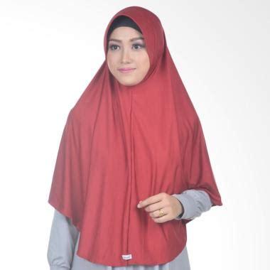 Jua Jual Jilbab Instant Roza jual atteena aulia basic stela jilbab instant merah hati harga kualitas