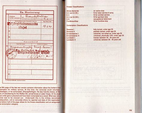 reference book php wehrpass reference book photos and paperwork treasure