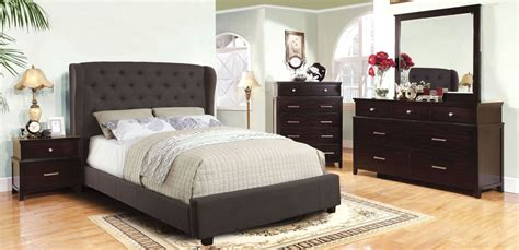What Is A Flax Dresser by Fontes Gray Flax Fabric Bedroom Set From Furniture Of