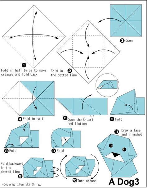 Origami Animals Diagrams - 40 best origami images on origami animals