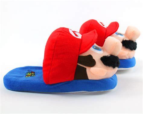 nintendo slippers mario slippers nintendo slippers mario brothers