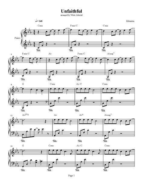 Unfaithful Chords
