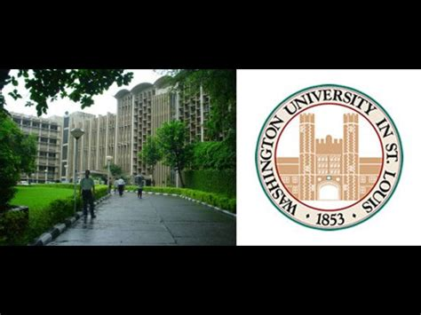 Wustl Executive Mba by Joint Executive Mba By Iit B The Washington