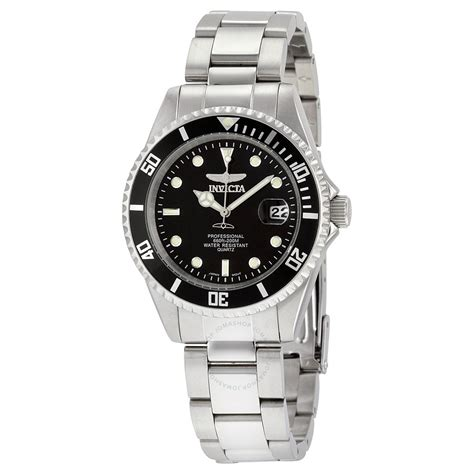 Swiss Navy 8932 Silver Black invicta pro diver black s stainless steel s