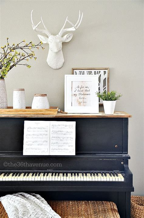 Handmade House Decorations - 17 best ideas about piano decorating on