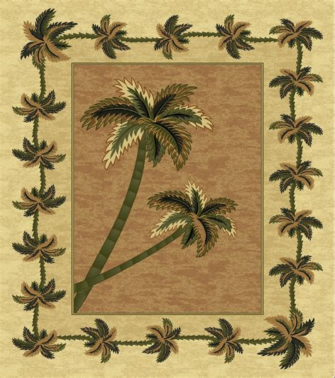 palm tree throw rugs mustard bahamas palm tree rug 2318 bahamas throw rugs