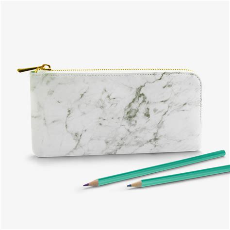 top 28 marble pencil black marble pencil case gifts for her oliver bonas carrara polished