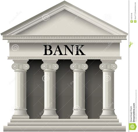 photo bank bank icon stock vector image of classic concept credit