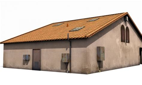 small house model small house 3d model obj max fbx