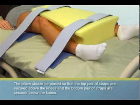 hip abduction pillow after hip surgery deroyal r hip abduction pillow wide