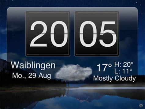 nachttisch uhr app nightstand central sch 246 ne app f 252 r den nachttisch mit