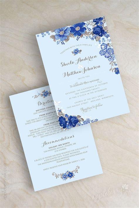 light blue wedding invitations 25 best ideas about garden wedding invitations on