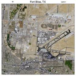 aerial photography map of fort bliss tx