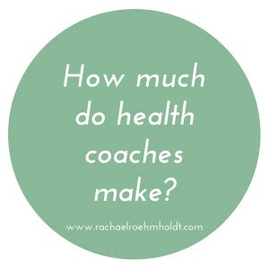 How Much Does Mba Health Make by How Much Do Health Coaches Make