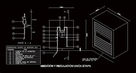 Regulator Gas Modern Gas Meter detail regulator gas meter dwg detail for autocad