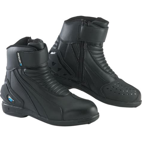 sport motorcycle boots spada icon wp waterproof short sports paddock ankle
