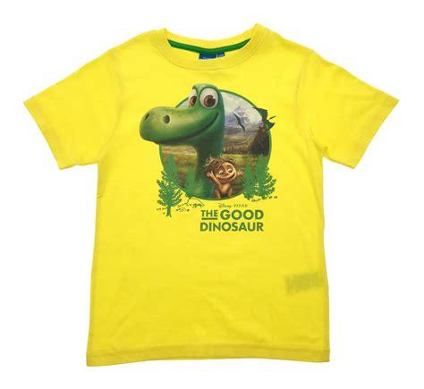 boys disney the dinosaur arlo spot t shirt sleeve cotton top size ebay