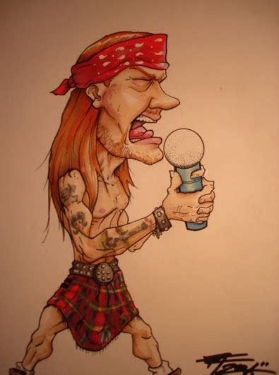 w axl rose by fordtruckky87 on deviantart