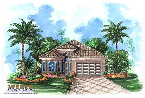 mediterranean house plans with pool mediterranean house plan for narrow lot lanai outdoor