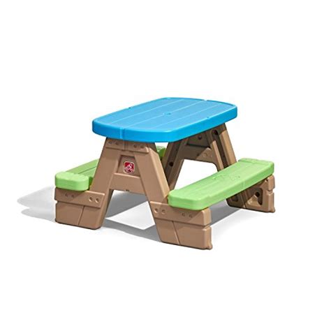 Step 2 Patio Set by Step2 Sit Play Picnic Table Garden Furniture Patio