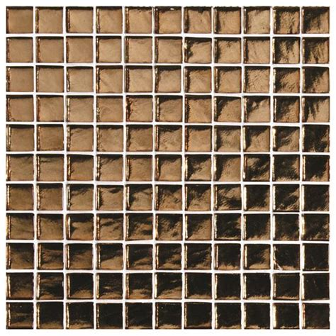 Rak Hexagon Tiles byzantium copper glass mosaic tile