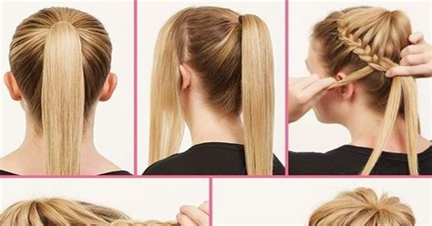 casual hairstyles for long hair step by step ballerina bun updos for long hair hairstyle tutorial b
