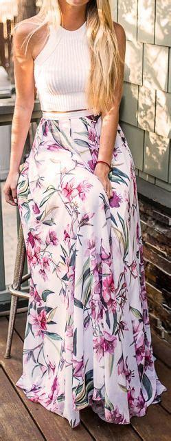 Flower Skirt Rok best 25 floral skirt ideas on