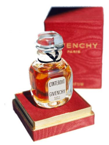 l interdit givenchy perfume a fragrance for 1957
