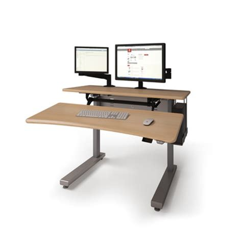 ergonomic desk anthro anthro ergonomic elevate ii adjustable work table