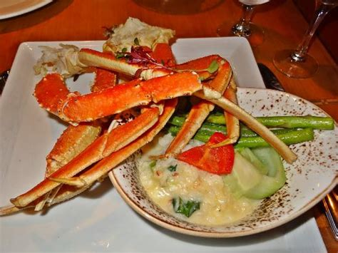 seafood house an excellent salmon dish picture of blue crab seafood house victoria tripadvisor