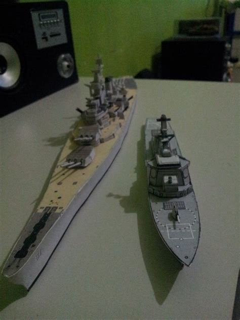 Battleship Papercraft - arleigh burke papercraft 2 by sai3108 on deviantart