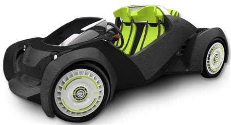 Eco Friendly House Ideas meet the strati a 3d printed electric car