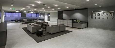design office environment boka powell completes interior design for stream realty s