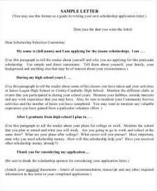 Scholarship Letter Master 30 Application Letter Templates Format Free Premium Templates