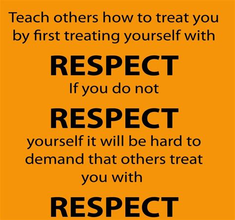 Quotes About Respect For Yourself