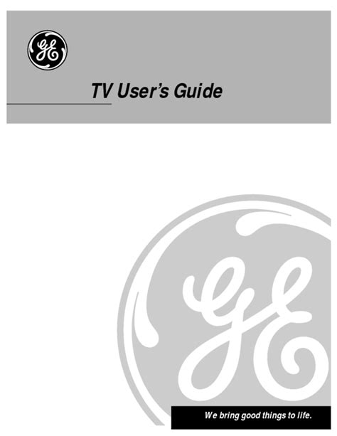 Flat Panel Television Users Guides Quot Flat Panel