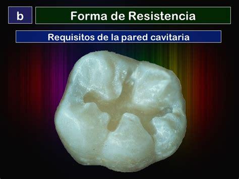 una forma de resistencia preparaciones biol 243 gicas para restauraciones de amalgama clase i