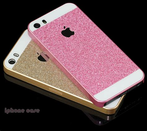 Cover Iphone 5 5s Fashion phone shiny glitter cases for iphone 5 5s fashion attractive back cover 5 color