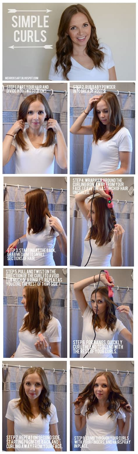 curling hair tutorial for med hair magnificent hair tutorials for summer days