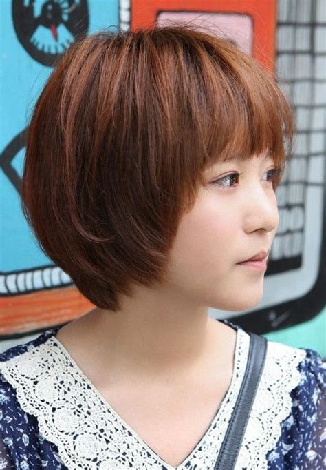 haircuts for japanese straightened hair asian hairstyles for girls short straight hair popular