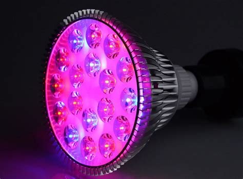 led plant light bulbs e27 54w led grow light plants and hydroponics scidle
