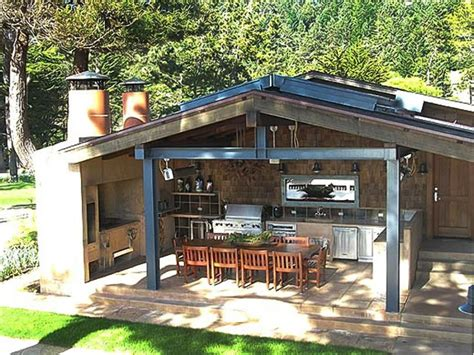 backyard kitchens ideas outdoor kitchen cabinet ideas pictures tips expert