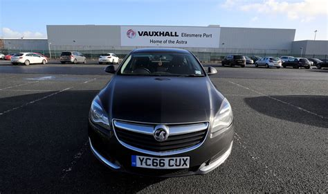 400 to go at vauxhall s ellesmere port factory car