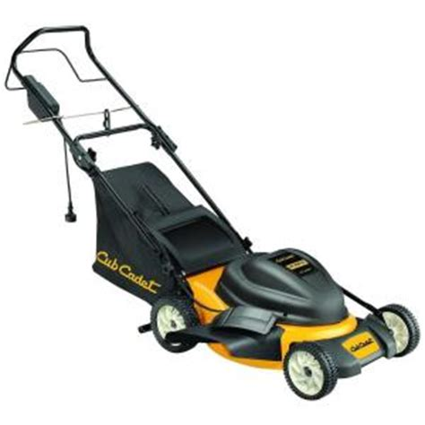 cub cadet 19 in 12 corded electric lawn mower 18a 182